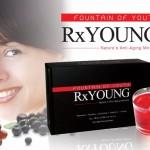 Formula unik Resveratrol, acai berry, pomegrante, grape seed dan glutathione jadikan Rx Young